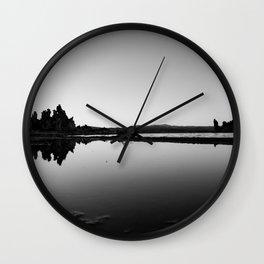 Mono Lake Wall Clock