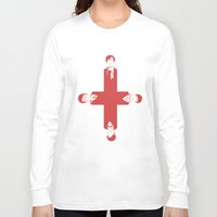 misfits Long Sleeve T-shirts featuring [ Fandom ] Sherlock Harry Potter Merlin Doctor Who Bond Life on Mars Cornetto Trilogy Misfits by Vyles