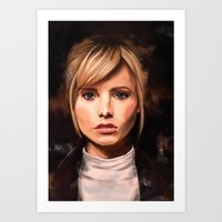 lucy Art Prints featuring Lucy by Wisesnail