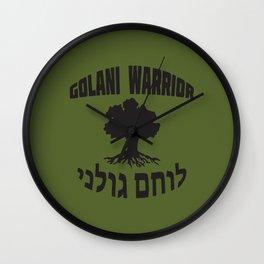 Israel Defense Forces - Golani Warrior Wall Clock