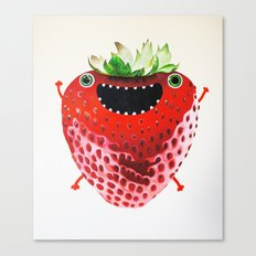 Nice Strawberry Canvas Print
