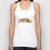 car Tank Tops featuring car  by mark ashkenazi