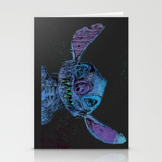 Zombie Stitch Stationery Cards