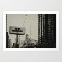 toronto Art Prints featuring Toronto by Snablab