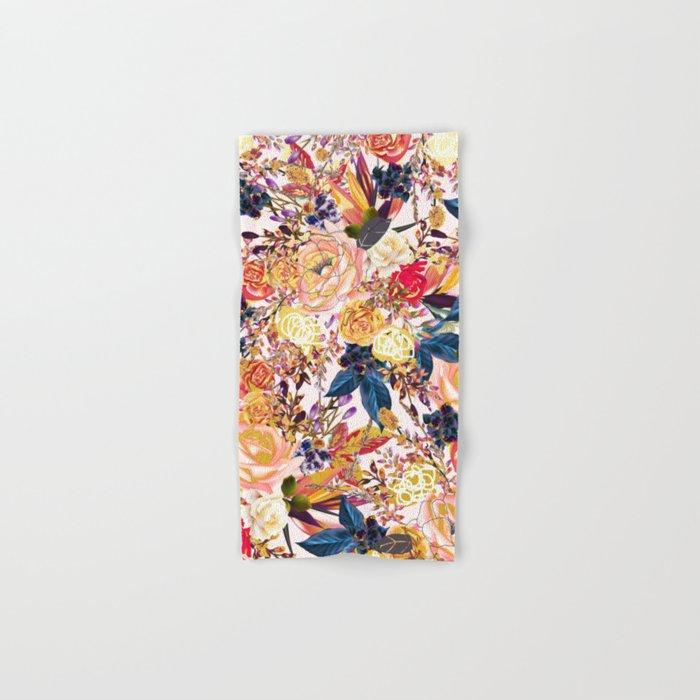 Rustic Floral #society6 #decor #buyart Hand & Bath Towel