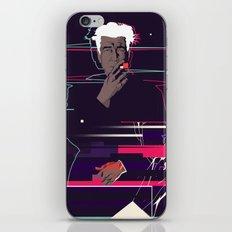 David Lynch - Glitch art iPhone & iPod Skin
