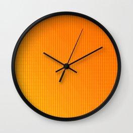 Hard strikes - soft colors ... Wall Clock