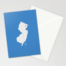 New Jersey Love Stationery Cards
