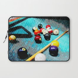 Billiard art and pool artwork 5 Laptop Sleeve