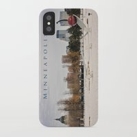 minneapolis iPhone & iPod Cases featuring Minneapolis by Kimberley Britt