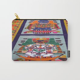 Guatemalan Alfombras Carry-All Pouch