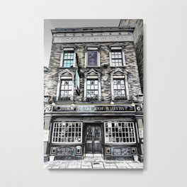 The Prospect Of Whitby Pub Art Metal Print