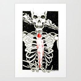 Life vs. Death Art Print
