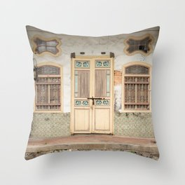 Old Shop House #26 Throw Pillow