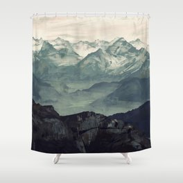 Mountain Fog Shower Curtain