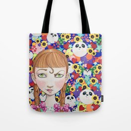 """""""Cute"""" is a Four-Letter Word Tote Bag"""