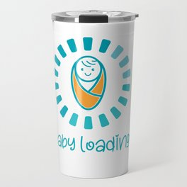 Baby Loading shirt Travel Mug