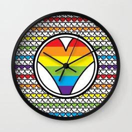 Lov<3 Wall Clock