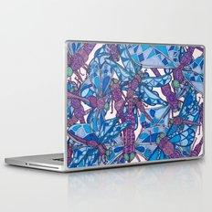 Dragonfly Disco (purple) Laptop & iPad Skin