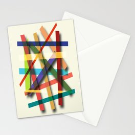 Abstract #436 Stationery Cards