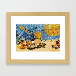 Sand In My Shoes Framed Art Print