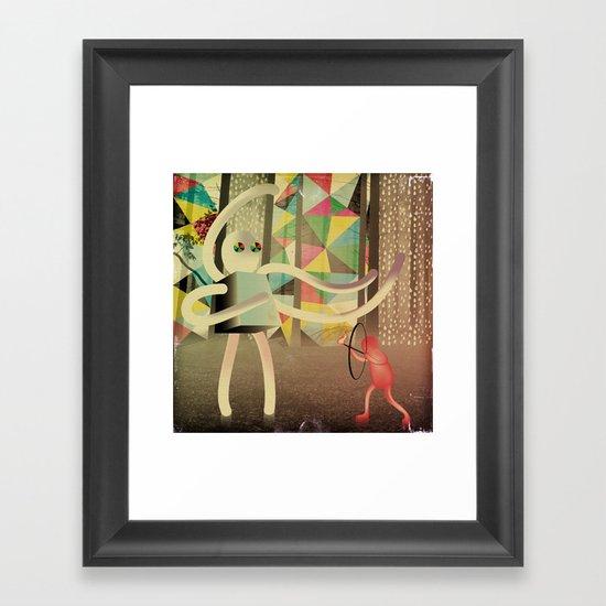 controller_24 (re-edit) Framed Art Print