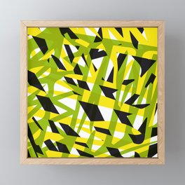 structure camouflage Framed Mini Art Print