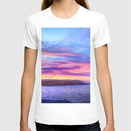 Biscay Bay sunset T-shirt