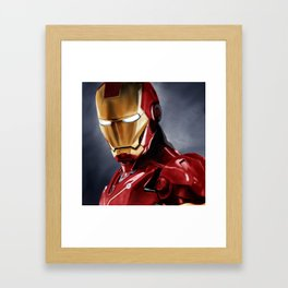 IronMan Framed Art Print