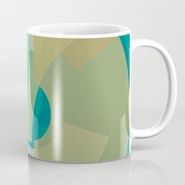 Cores em Semicírculos Q-1 Coffee Mug