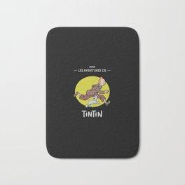 Tintin Run Bath Mat