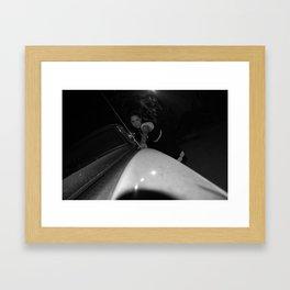 Hollywood Hills Framed Art Print