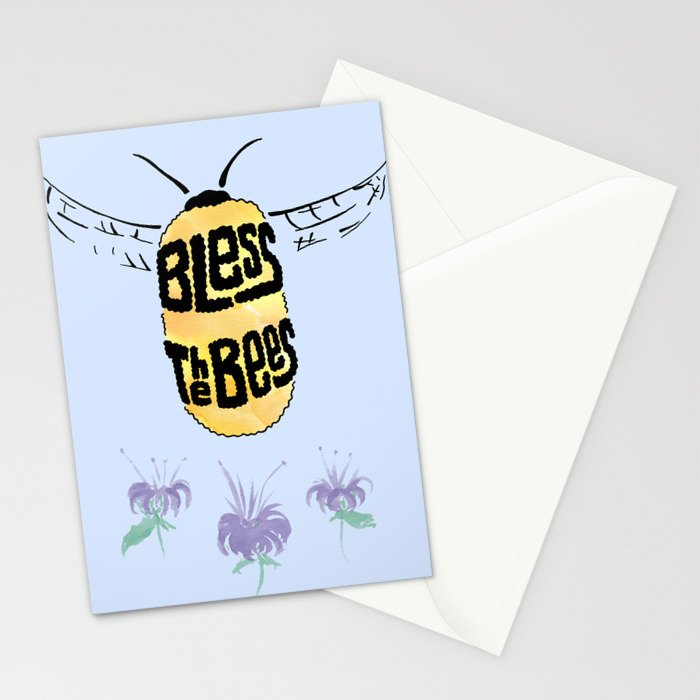 Bless the Bees Stationery Cards