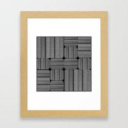 SUITE BLEUE Framed Art Print
