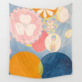 Hilma af Klint - The Ten Largest No. 2 Childhood Wall Tapestry
