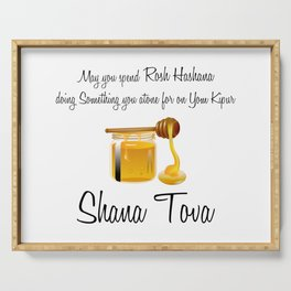 Rosh Hashana Special naughty blessing Serving Tray