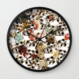 Glitch Fall Wall Clock