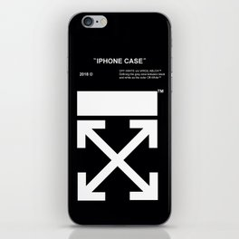 Off White Iphone Case iPhone Skin