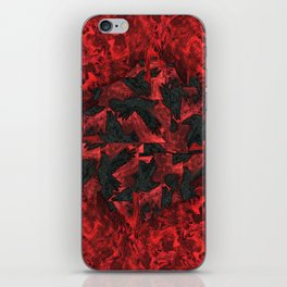 Ravens and Crows iPhone Skin