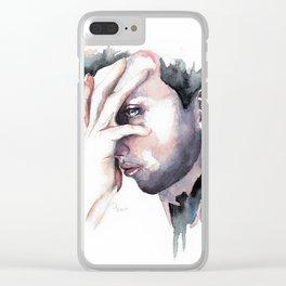 Dark Soul Clear iPhone Case
