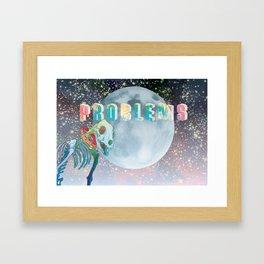 Laika, Problems Framed Art Print