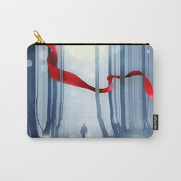 Forest Ribbon Carry-All Pouch