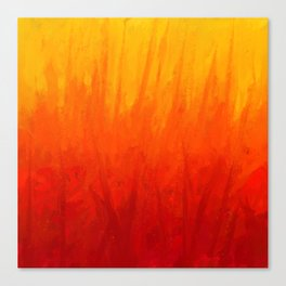 Fire and Liquid Sunshine Canvas Print