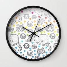Hypno Animals Wall Clock