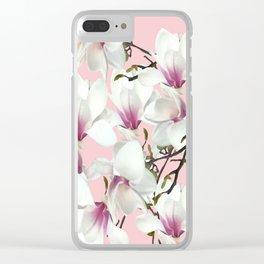 Magnolia Clear iPhone Case