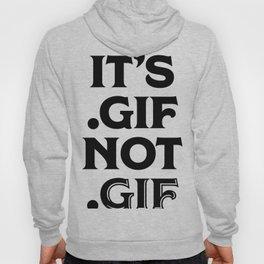 .gif not .gif (Regina Black Edition) Hoody