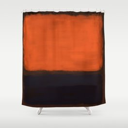 Rothko Inspired #18 Shower Curtain