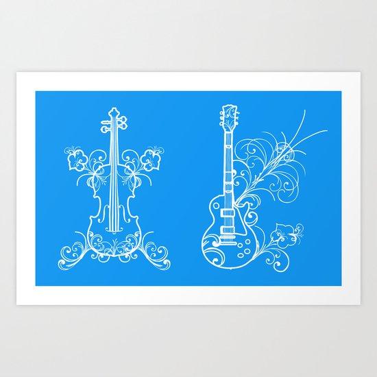 Music - 1 Art Print