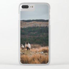 Sheeps at Connemara Clear iPhone Case