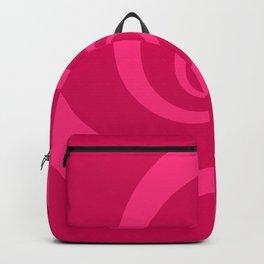 pink vortex Backpack